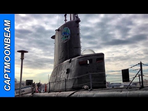WWII Submarine Tour, USS Torsk at Baltimore Inner Harbor