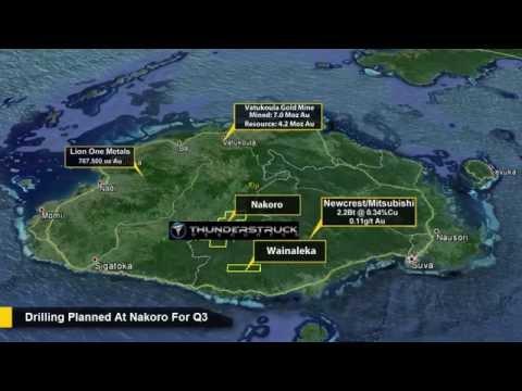 Thunderstruck Resources - The Wainaleka Copper-Zinc Prospect
