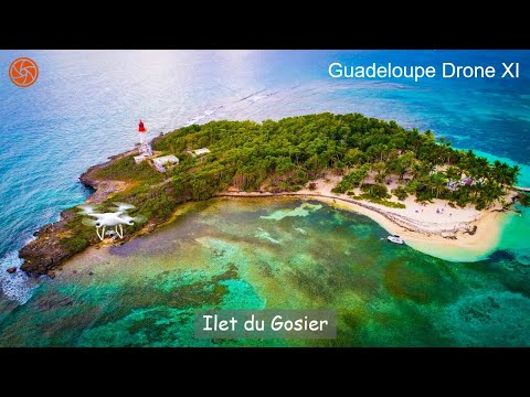 4K Drone Video | Le Gosier, Guadeloupe
