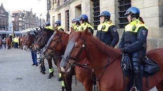 Politie staat paraat bij Paleis