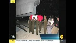 TRASLADAN FERETRO DE MILITAR CAIDO HACIA AREQUIPA
