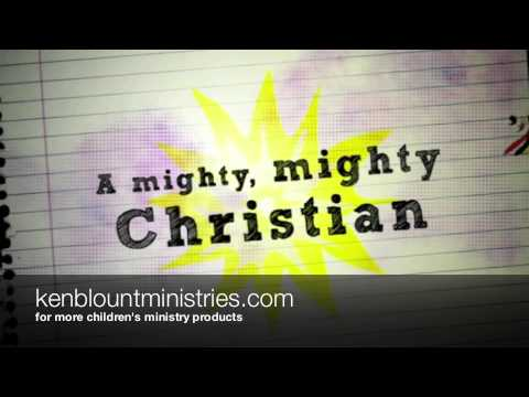 I Am A Christian  kids song about the Armor Of God Lyrics Ken Blount