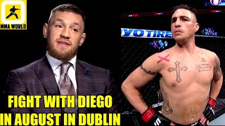 Conor McGregor leaks DM's from Dana White revealing negotiations for his next fight,UFC 253,Masvidal