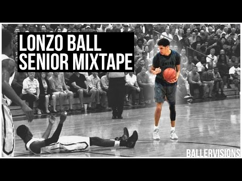 Lonzo Ball OFFICIAL Senior Year Mixtape | #1 PG In the NATION!