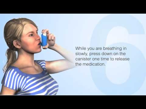 How to Use Metered-Dose Inhalers Properly