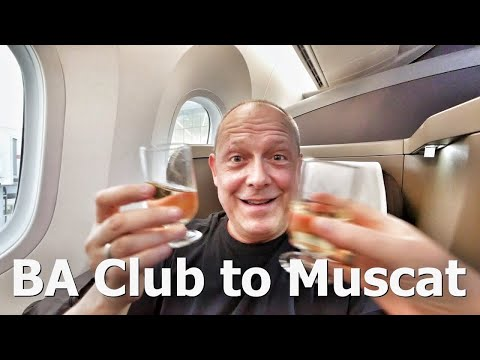 BA Club World London to Muscat, Oman Trip Report - RogVLOG24