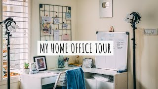 My Home Office Tour | Office Tour India | Home Office Decor Ideas | Youtuber Office Setup Tour