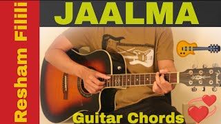 Jaalma | New Nepali movie Resham Filili guitar chords lesson | tutorial