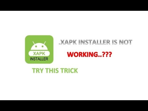 XAPK Installer is not working  !!!!!! Try this Trick for installation of XAPK   100 % working