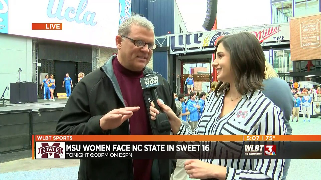 Rachel Richlinski live interview with fan in Kansas City - NCAA Sweet  Sixteen