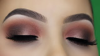 Too Faced Sweet Peach Palette Eye Makeup tutorial
