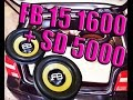 2 FB 15 1600 + SD EVO 5000