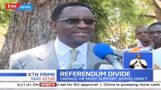 Orengo says William Ruto is insincere about referendum