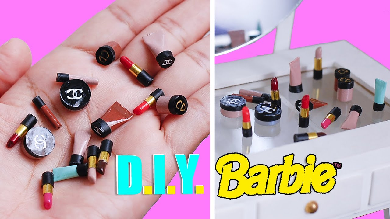 Barbie Make Up Part 1/2 DIY