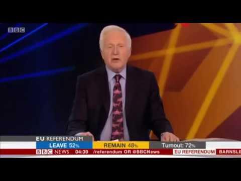 BBC's David Dimbleby 'We're Out' EU.