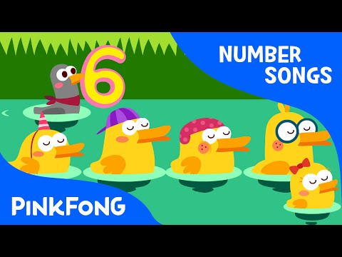 Six Little Ducks | Number Songs | PINKFONG Songs for Children
