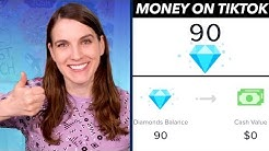 Explaining Earning Money on TikTok: Coins and Diamonds to Dollars!