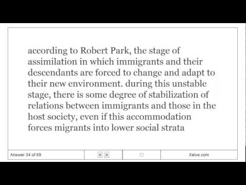 Introduction to Sociology - 8. Race and Ethnicity - Flashcards