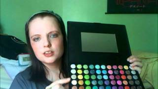 JC NADIA PARIS 88 Ultra Shimmer Eyeshadow Makeup Palette REVIEW Thumbnail