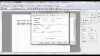 Hausarbeit schreiben - Fußnotenzahl hochstellen (Fußzeile) - OpenOffice Writer