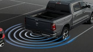 2019 Ram 1500 Blind spot Monitoring and Rear Cross Path Detection systems