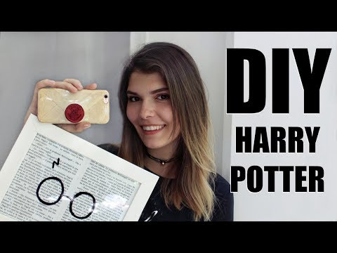 DIY: 5 MANUALIDADES DE HARRY POTTER