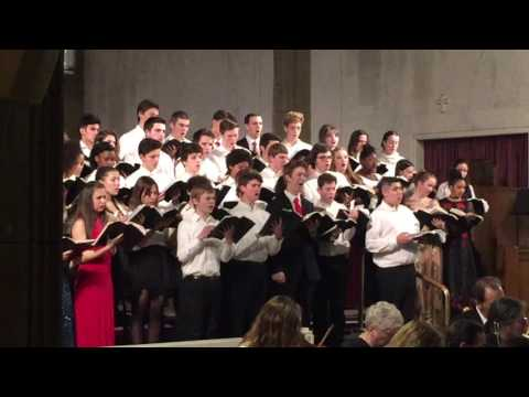 Christmas Chorus Hawthorne Valley School 2016