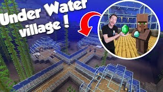 Building A Under Water Village! | Minecraft