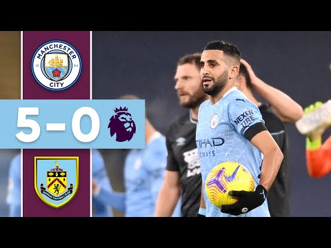 MAHREZ HAT-TRICK SINKS BURNLEY | Man City v Burnley | Premier League