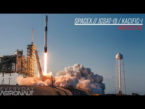 Watch SpaceX Launch (and Land) A Falcon 9 For JCSAT18/KACIFIC