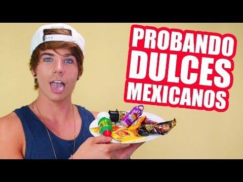 PROBANDO DULCES MEXICANOS | JAVIER LUNA