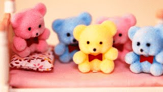 Five Little Teddy Bears Jumping On The Bed | Five Little Bears Jumping on the bed | Nursery Rhymes