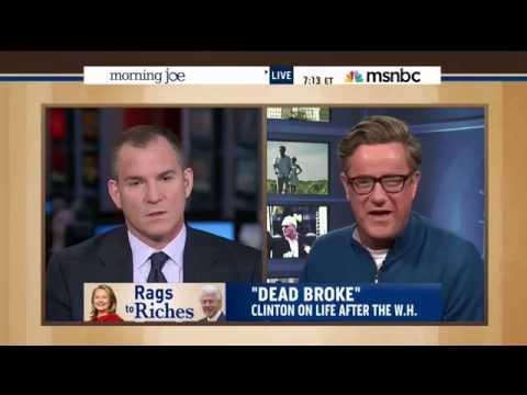 "MSNBC Panel Mocks Hillary Clinton's ""Struggled"" Comments"