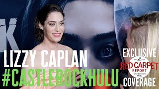 Lizzy Caplan interviewed at the premiere for S2 of Castle Rock on Hulu #CastleRock #Hulu