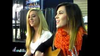 Megan & Liz - Stereo Hearts (Gym Class Heroes) - St.Louis 2/28/12