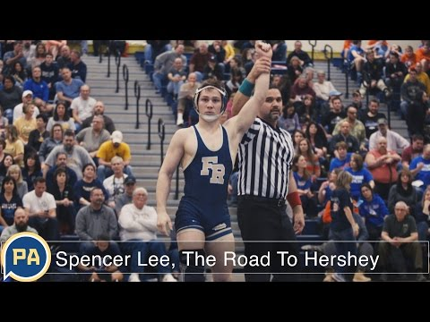Spencer Lee, the road to Hershey's PIAA wrestling championship