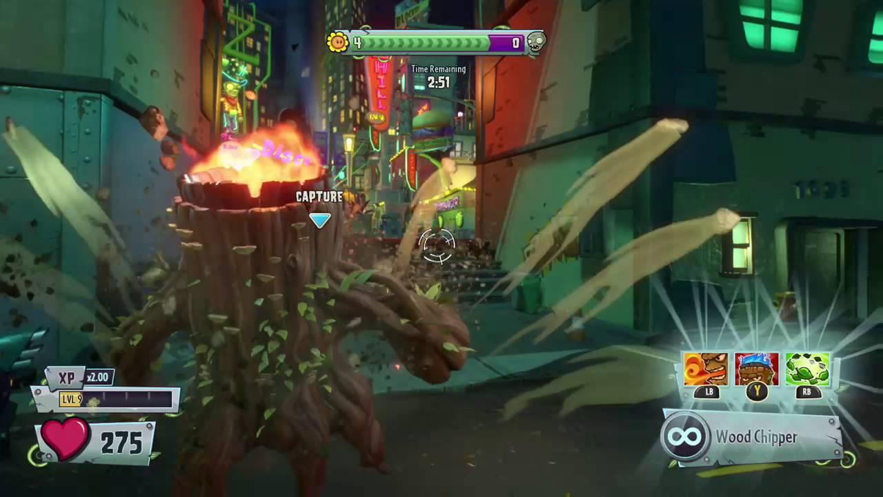 Plants Vs Zombies Garden Warfare 2 Torchwood Gameplay Youtube
