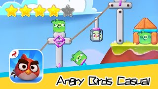 Angry Birds Casual Level 40-41 Walkthrough Sling birds to solve puzzles! Recommend index four stars