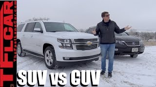 What's the Difference Between a Crossover vs Sport Utility Vehicle? SUV vs CUV Explained