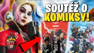 SOUTĚŽ O KOMIKSY DO FORTNITE!