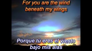 Bette Midler-Wind Beneath my Wings (Sub. Español Inglés)