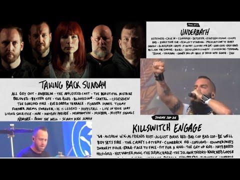 'Furnace Fest' 2021 Underoath - Killswitch Engage - Walls of Jericho and many more...!