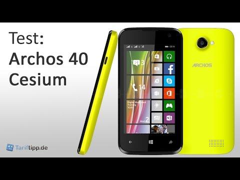 Archos 40 Cesium | Test deutsch
