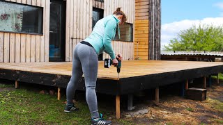 🔴Amazing Building Strong Deck 350 Ft² - In 10 Minutes