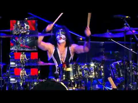 Kiss - Lick It Up - Rock The Nation Live! (Eric Singer Powervision)