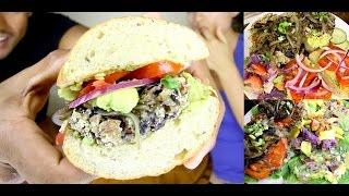 Bingeworthy Burgers [Vegan + GF + Unprocessed] - The Sexy Tablespoon
