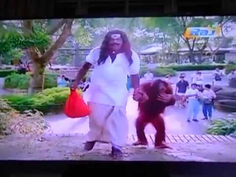 Goundamani and Senthil comedy becomes Orang Utan in Singapore