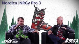 2015 Nordica NRGy Pro 3, 2, and 1 Mens Boot Overview by SkisDOTcom