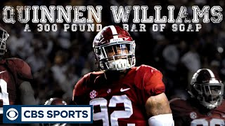 Trying to stop Quinnen Williams is like trying to stop a 300 lb. of soap  | CBS Sports Features