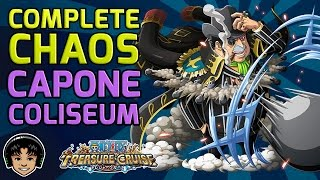 Walkthrough for the Complete Chaos Capone Coliseum [One Piece Treasure Cruise]